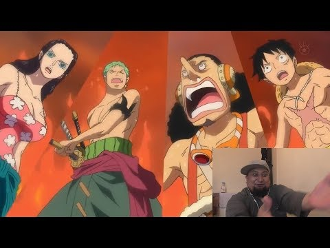 Live Reaction One Piece Episode 579 - Punk Hazard In Flames - Incoming Dragon Fight