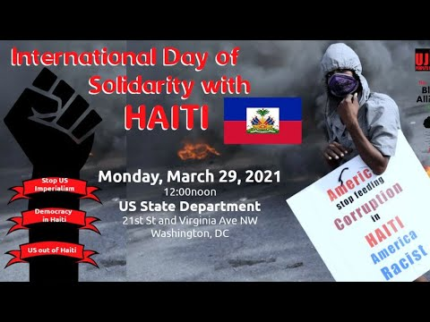 International Day of Solidarity with Haiti