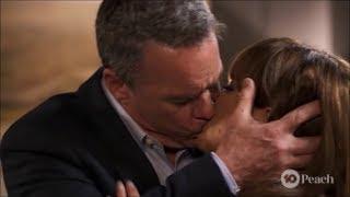 Terese and Paul near kiss and kiss scene ep 8039