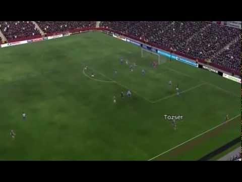 Aston Villa vs Q.P.R. - Senderos Goal 85 minutes
