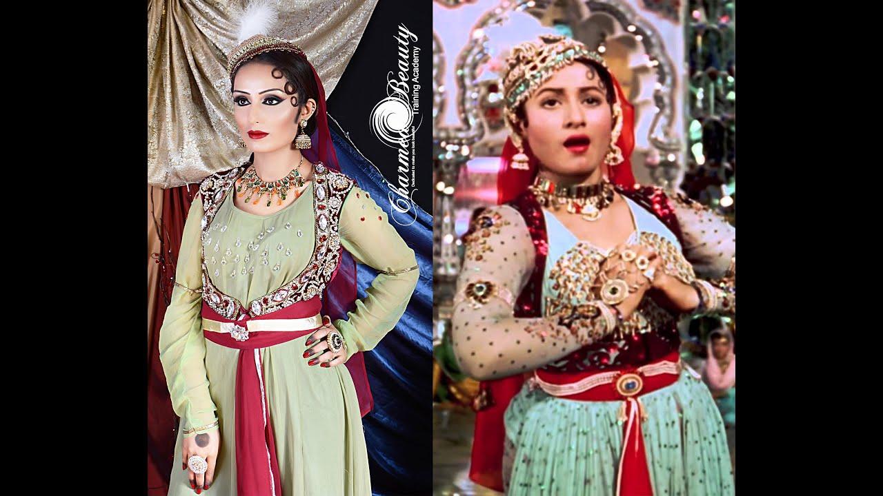 Anarkali Mughal Inspired Makeup Look Madhubala By Farzana
