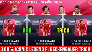 How To Get Iconic F. BECKENBAUER From Iconic Moment - FC BAYERN MÜNCHEN Box Draw || PES 2020 MOBILE