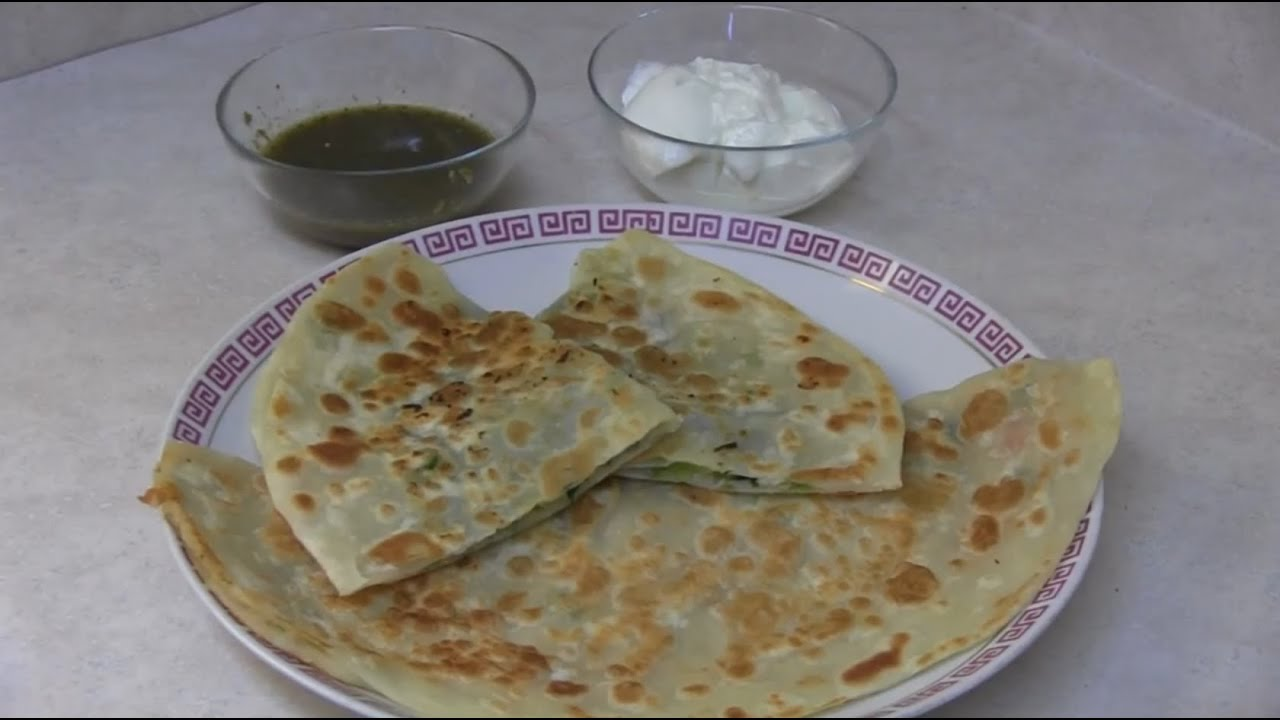 How to make Afghani Bolani with Potatoes and Green Onions ...