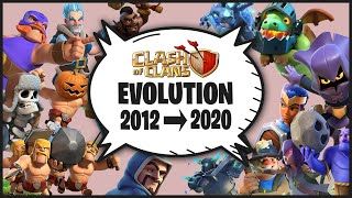 Clash of Clans Evolution 2012 to 2020