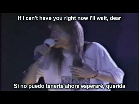 Guns N' Roses - Patience (Lyrics y Subtitulos en español)