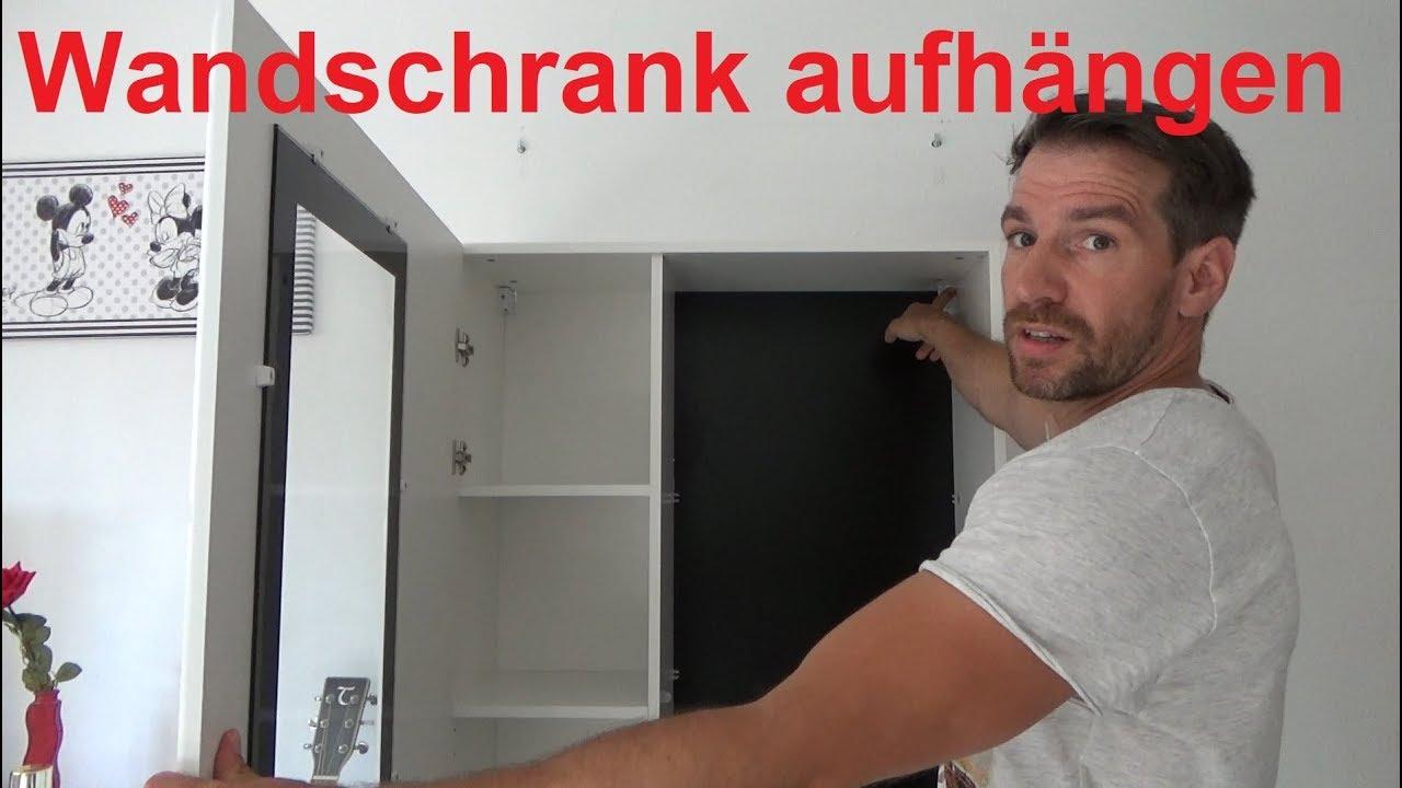 Wandschrank Aufhangen Wandschrank Anbringen Wandschrank Montieren