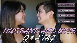 VALENTINE Q&A with MIKE I HUSBAND & WIFE TAG | DJ CHACHA