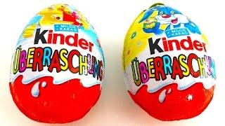 mr bean and 2 kinderberraschung surprise eggs
