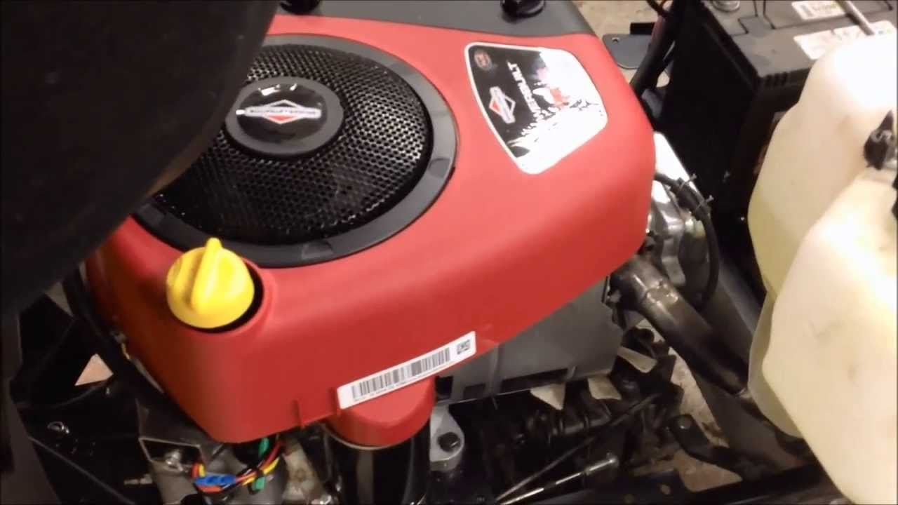 11 Hp Briggs And Stratton Wiring Diagram Briggs Amp Stratton Intek 15 5hp Ohv First Startup Youtube