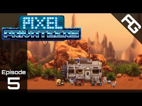 A Way Home - Let's Play Pixel Privateers - Ep 5 - Pixel Privateers Gameplay - Pixel Privateers Game