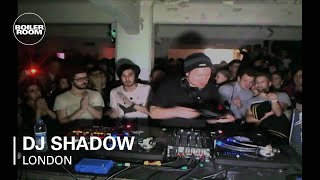 DJ Shadow 30 min Boiler Room DJ set