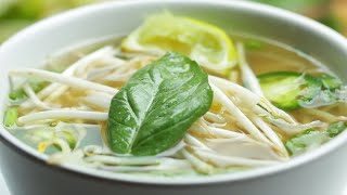 Quick 30-Minute Chicken Pho