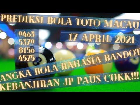 PREDIKSI ANGKA TOTO MACAU POOLS  17 APRIL 2021 JITU - BOCORAN TOTOMACAU - RUMUS JITU TOTO MACAU