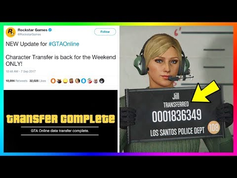 Character Transfer Feature Coming Back To GTA Online?