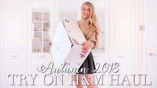 MY FIRST EVER H&M HAUL ~ AUTUMN TRY ON ~ Autumn Fashion Edit