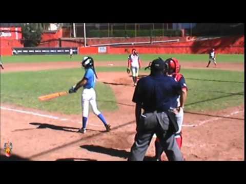 Nacional Softbol Infantil, Baja California vs Nuevo Leon