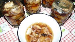 Маринованные баклажаны с базиликом. Консервация на зиму.Салаты из баклажан на зиму