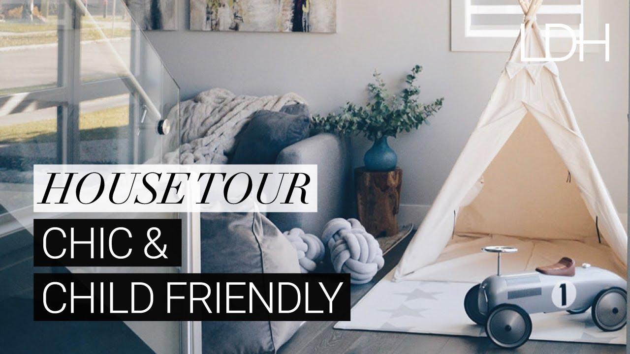 Kid Friendly & Stylish Family Home: A Chic Modern Farmhouse Tour