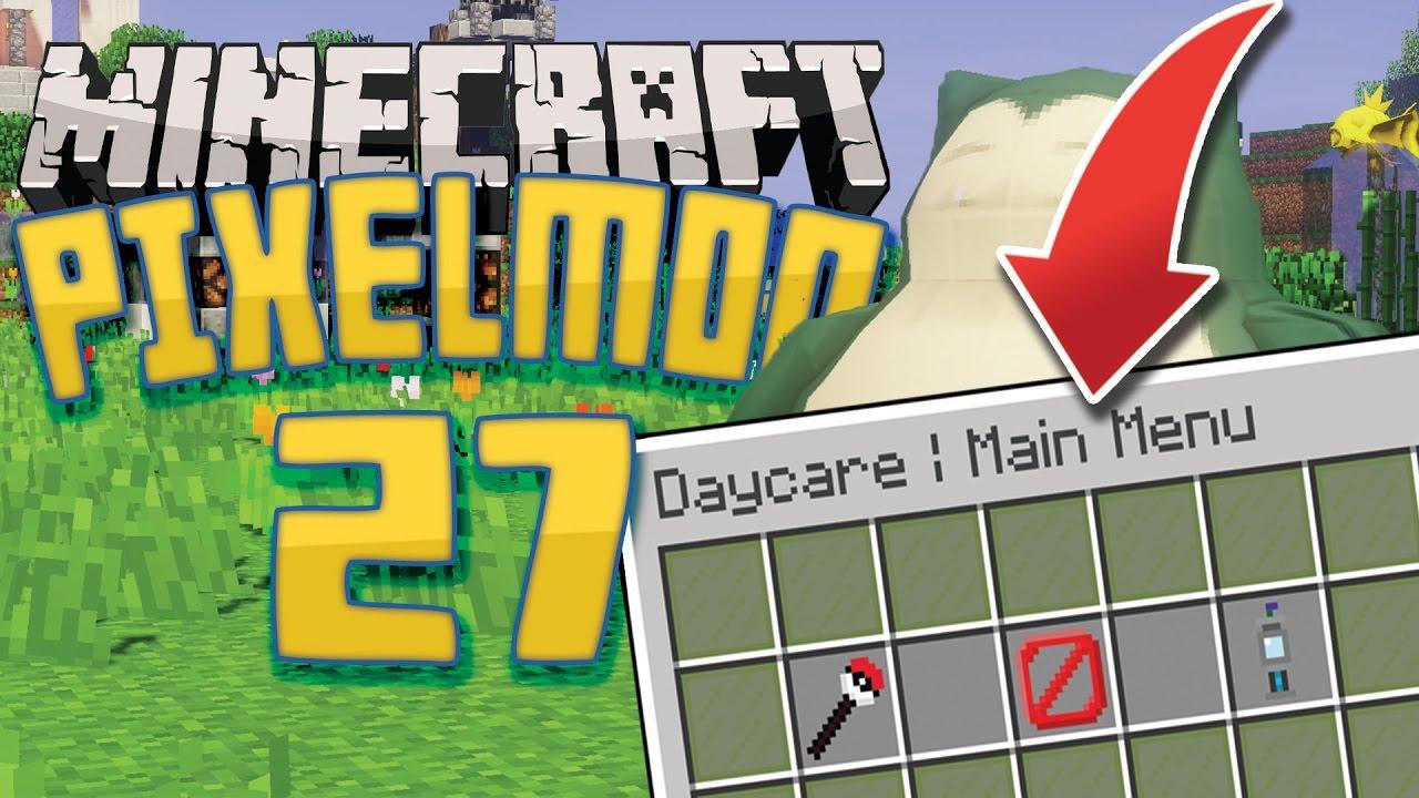 NEW UPDATE! Daycare & Breeding! | Minecraft: Pixelmon Public Server |  Episode 27