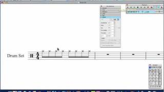Sibelius Tutorial: Drum parts from scratch
