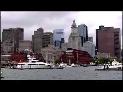Boston Harbor Cruise to Charlestown Navy Yard, LVBO Travel Videos