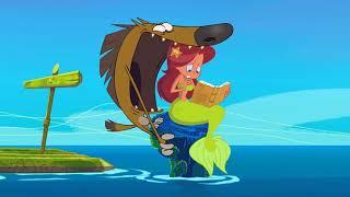 Зиг и Шарко | МОЛОТОГОЛОВЫЙ КУЗЕН с01э32 | русский мультфильм | дети видео | мультфильмы |