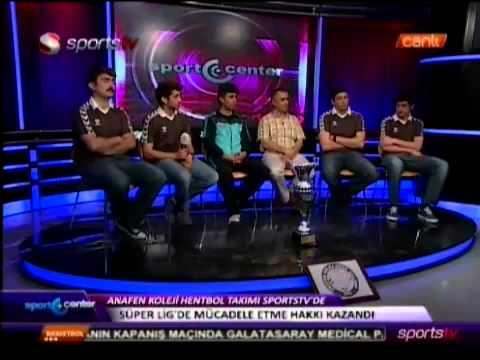 Sports Tv - Sport Center Programı - Anafen Okulları Haberi - 26.04.2013