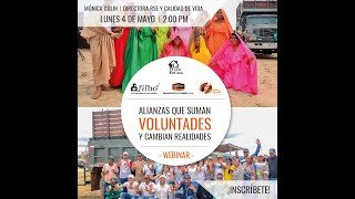 Webinar: Suma Tus Manos, alianzas que suman voluntades y cambian realidades en la Guajira.