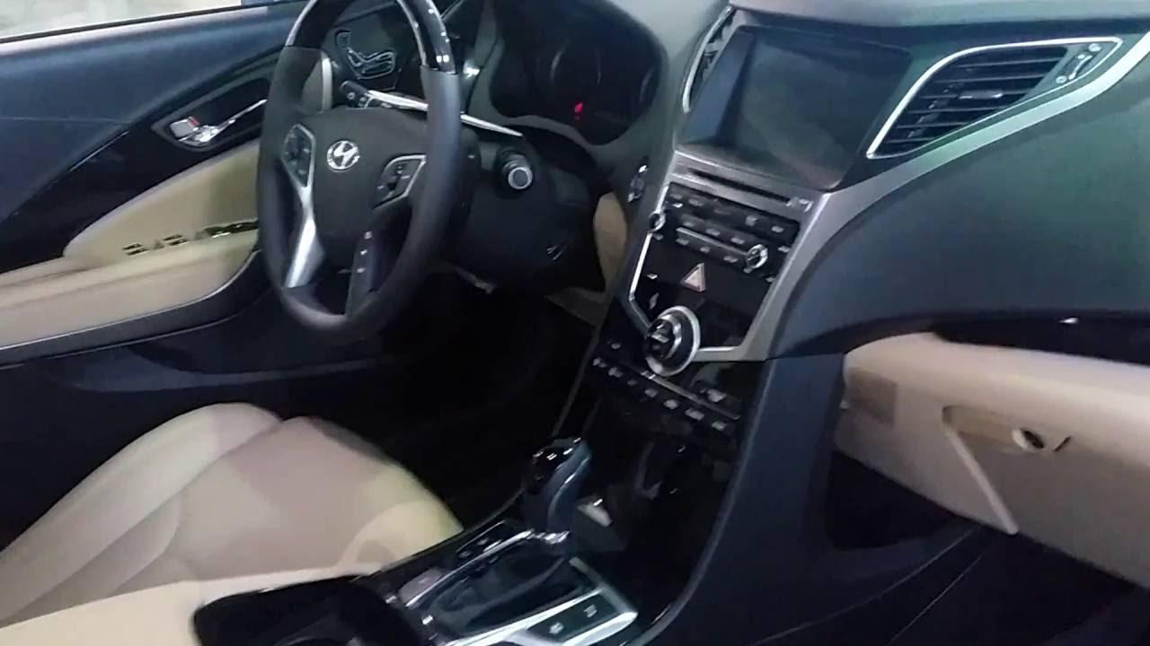 Hyundai Azera 2016 >> Hyundai Azera 2017 - Full Interior Walkaround - YouTube