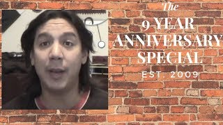 9 Years on YouTube! VIDEO SPECIAL! Saying goodbye...