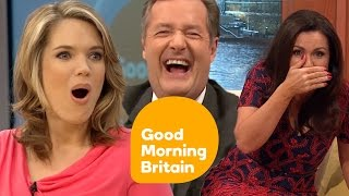 GMB Presenters Best One Liners! | Good Morning Britain