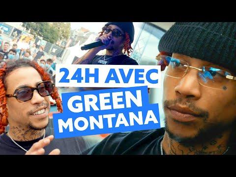 Youtube: 24H avec Green Montana à Bruxelles!