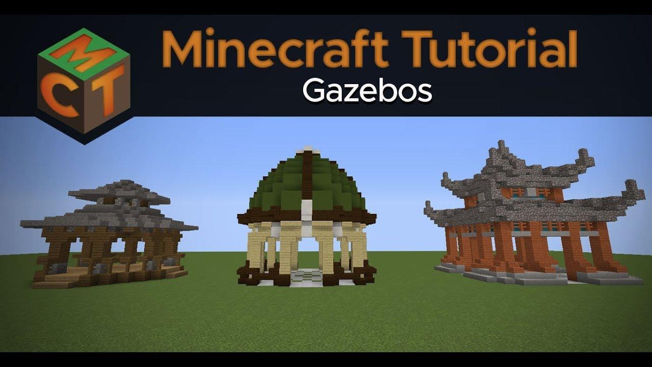 3 Easy Gazebo Designs in Minecraft