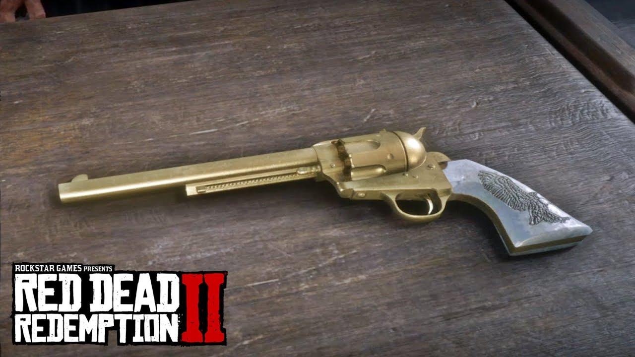 Cattleman Revolver Red Dead Redemption 2 Weapons Weapon