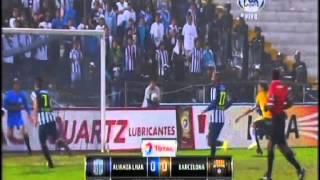 Copa Sudamericana: Barcelona eliminó a Alianza Lima