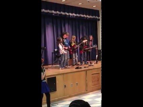"Community Park School ""Rebel Alliance"" band"