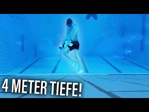 Unterwasser LAUFEN! 😱(mit Unterwasser-Hoverboard!)