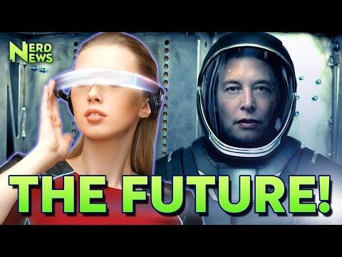 The Future According to Tesla's Elon Musk: Submarine Cars, Evil AI, Mars Colonies