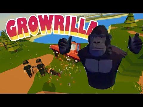 Симулятор ГОРИЛЛЫ - ешь, расти, круши! Игра для VR GROWRILLA