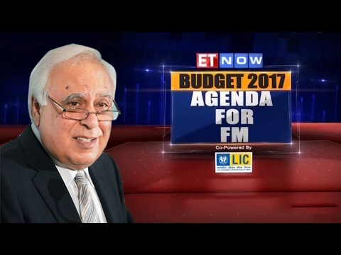 Budget 2017: Agenda For FM | In Conversation With Kapil Sibal