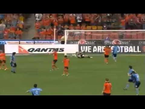 ALEX DEL PIERO DUE GOL INCREDIBILI | BRISBANE ROAR FC vs SYDNEY FC 4-2 | 16 11 2012