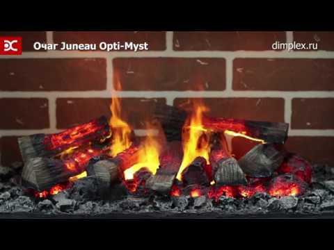 Каминокомплект Glivi Миллениум с очагом Juneau. Видео 1
