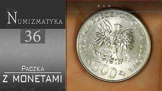 Paczka a w niej walizeczka z monetami :) Numizmatyka