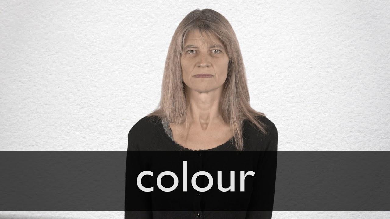 Colour Definition und Bedeutung  Collins Wörterbuch