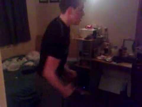 Simon Woods dancing