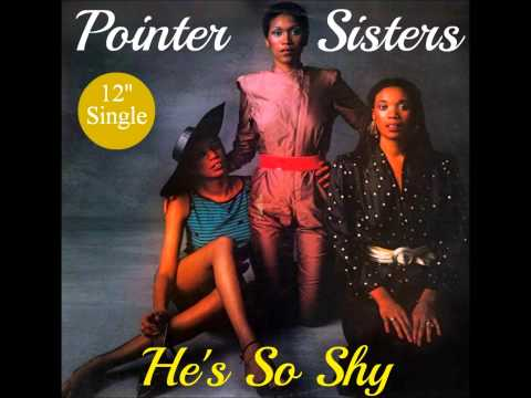 Pointer Sisters -  He's So Shy ( 12''Special Version )