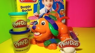 Play-Doh Doggy Doctor a Play Doh Vet Playset Toy be a Doggy Doctor like Doc McStuffins