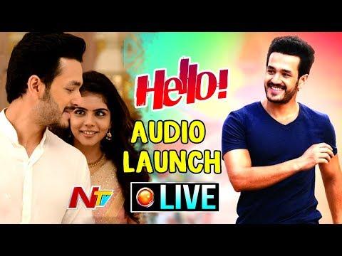 HELLO! Movie Audio Launch LIVE || Akhil Akkineni, Kalyani Priyadarshan, Nagarjuna || NTV