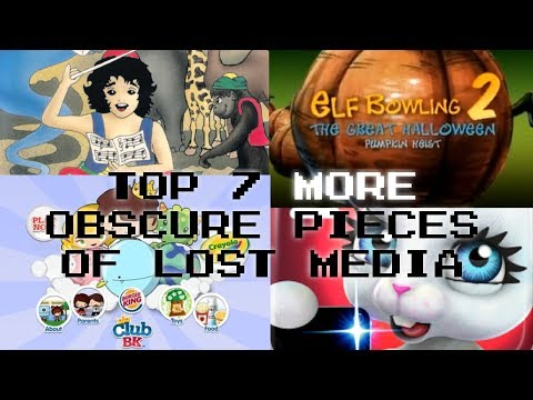 Top 7 MORE Obscure Pieces of Lost Media