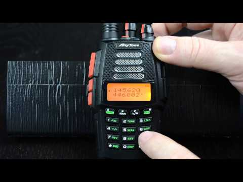 AnyTone TERMN-8R Dual Band HT Radio Review